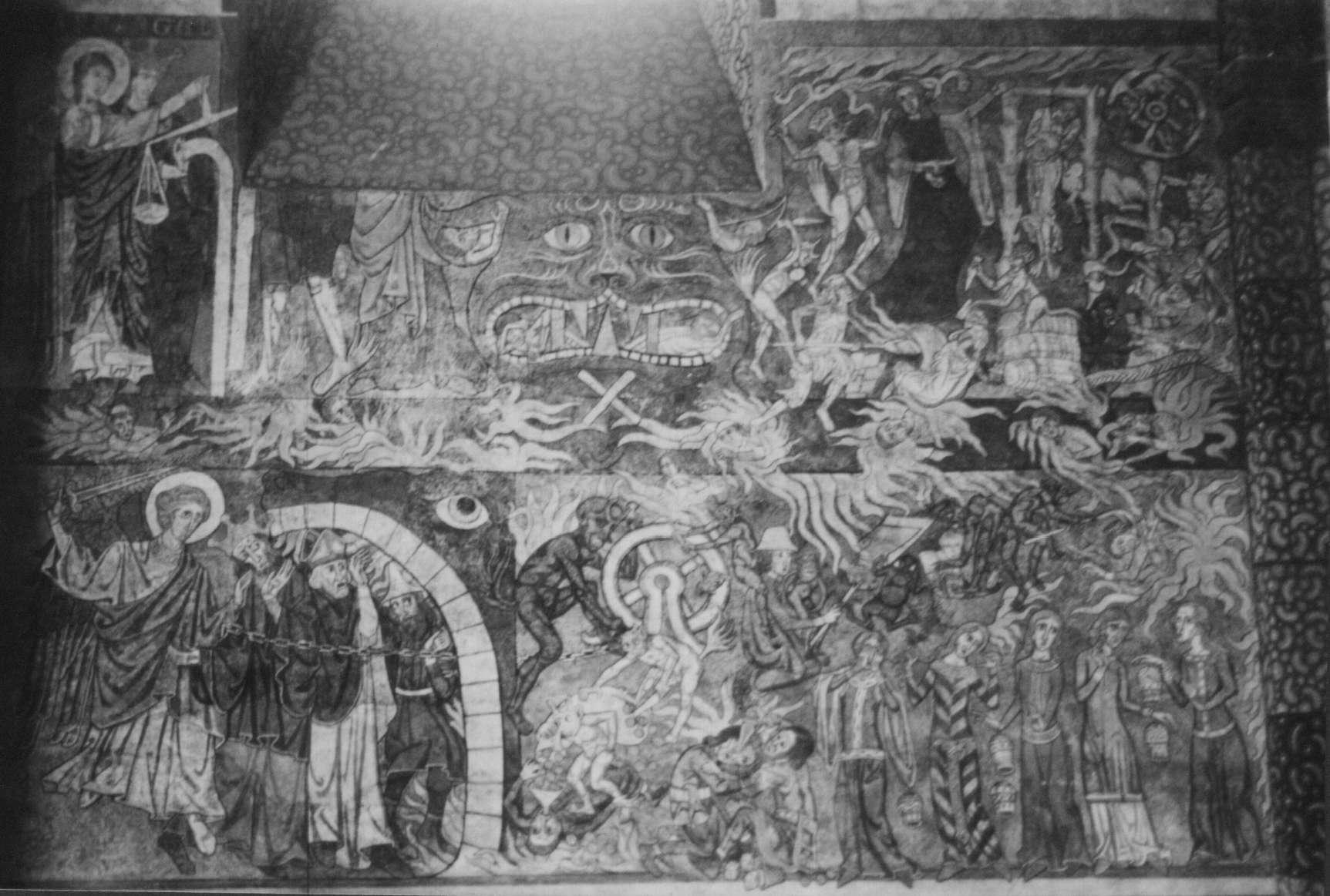 Malerei Hölle (Detail)